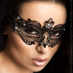 Masque noir en métal avec strass CR-3755 Chilirose grossiste DBH Creations