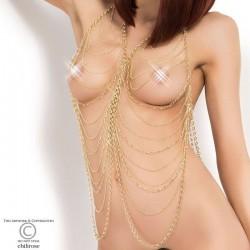 Chaine de corps dorée