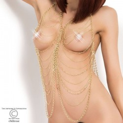 Gold body chain CR-3897 Chilirose wholesaler DBH Creations