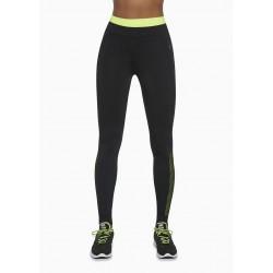 Inspire legging sport noir et vert Bas Bleu Sport DBH Créations