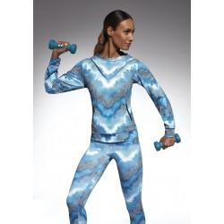 Energy sweat à capuche sport bleu Bas Bleu Sport DBH Créations
