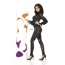 Valentina legging noir et or Bas Bleu grossiste DBH Creations