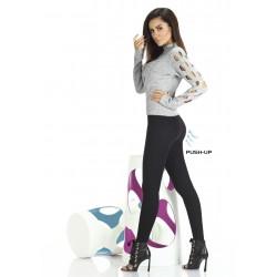 Octavia legging push-up noir Bas Bleu grossiste DBH Creations