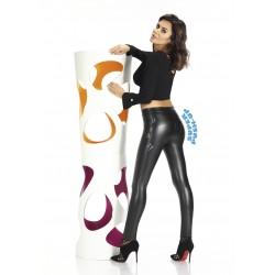 Kayla legging push-up noir effet cuir
