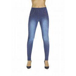Maddie jean legging light blue Bas Bleu wholesaler DBH Créations