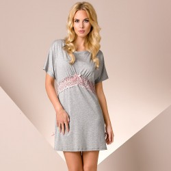 Short grey nightdress