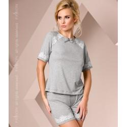 Short grey pyjamas