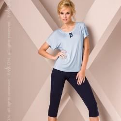 Short blue pyjamas