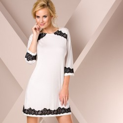 Short nightdress white