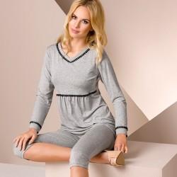 Grey pyjamas