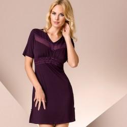 Short purple nightdress