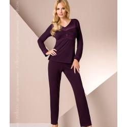 Purple pyjamas