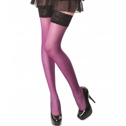 Barbara purple stockings LeggStory wholesaler DBH Creations