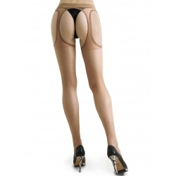 Gina natural open tights LeggStory wholesaler DBH Creations