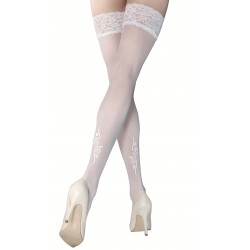 Lisa white stockings LeggStory wholesaler DBH Creations