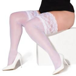 Paloma bas blanc XTra Size LeggStory grossiste DBH Creations