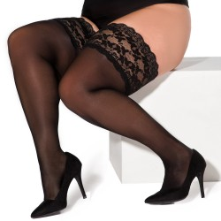 Paloma black stockings XTra Size