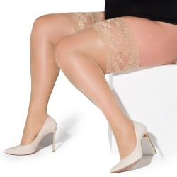 Paloma natural stockings Xtra Size LeggStory wholesaler DBH Creations