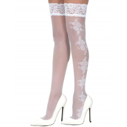 Victoria white stockings LeggStory wholesaler DBH Creations
