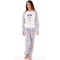 Pyjama polaire blanc