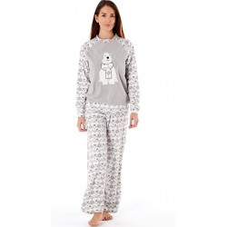 Grey soft pyjamas