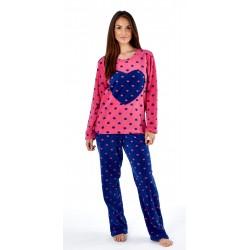 Heart pyjamas with pink top