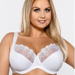 Deborah white bra