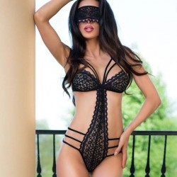 Lace body + mask CR-4070 Chilirose wholesaler DBH Creations