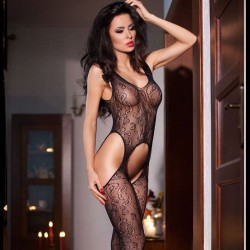Bodystocking résille CR-4055 Chilirose grossiste DBH Creations