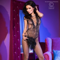 Bodystocking résille CR-4102 Chilirose grossiste DBH Creations