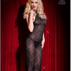Babydoll long in lace CR-4043 Chilirose wholesaler DBH Creations