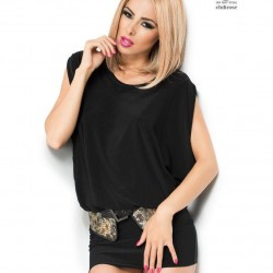Black clubwear dress CR-3887 Chilirose wholesaler DBH Creations