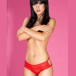 Red lace shorty CR-3614 Chilirose wholesaler DBH Creations