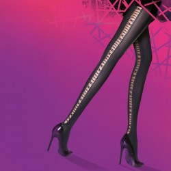 Back ladder tights PNAQT8 Pretty Polly wholesaler DBH Creations
