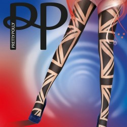 British flag tights PUART9 Pretty Polly wholesaler DBH Creations