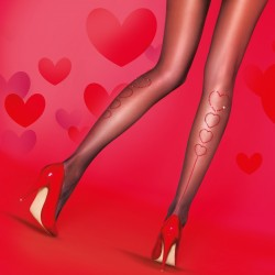 Strass heart tights PNARZ1 Pretty Polly wholesaler DBH Creations