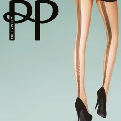 Design seamed tights PNAVG3 Pretty Polly wholesaler DBH Creations