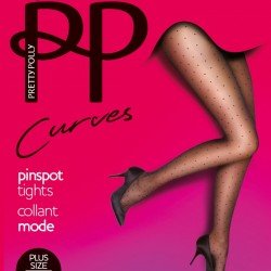 Large size pinspot tights PMAUN4 Pretty Polly wholesaler DBH Creations
