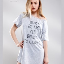 Oversize nuisette gris clair