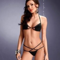 Palmira set black Me Seduce wholesaler DBH Créations