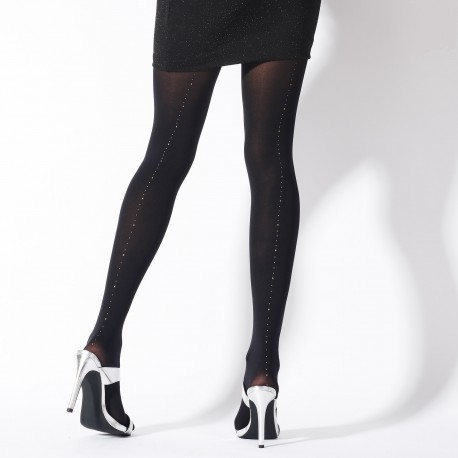 Gold and silver seamed tights PNAVP2 Pretty Polly wholesaler DBH Creations