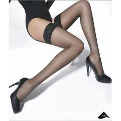 Salma black stockings Adrian wholesaler De Bas En Haut Creations