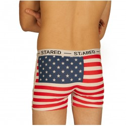 Boxer USA blanc grossiste DBH Créations