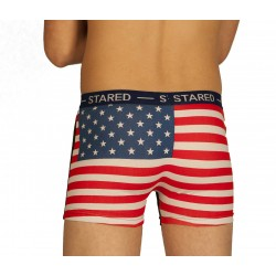 Boxer USA bleu marine