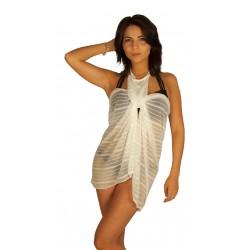 White pareo dress wholesaler DBH Créations