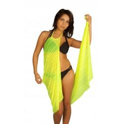 yellow pareo dress wholesaler DBH Créations