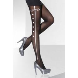 Lena black tights Adrian wholesaler De Bas En Haut Creations