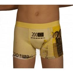 Boxer euros jaune