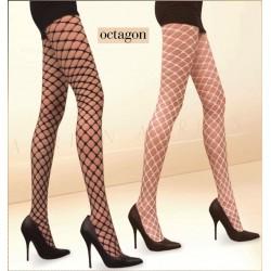 Octagon black tights Adrian wholesaler De Bas En Haut Creations