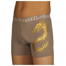 Light grey dragon boxer wholesaler De Bas En Haut Creations